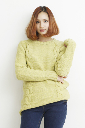neon twist knit(2color)