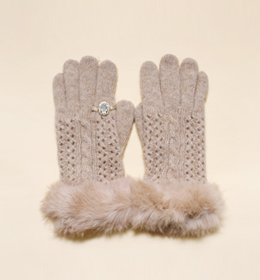 cubic ring glove(2color)